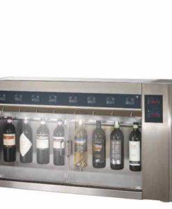 Wijn per glas voor 8 flessen